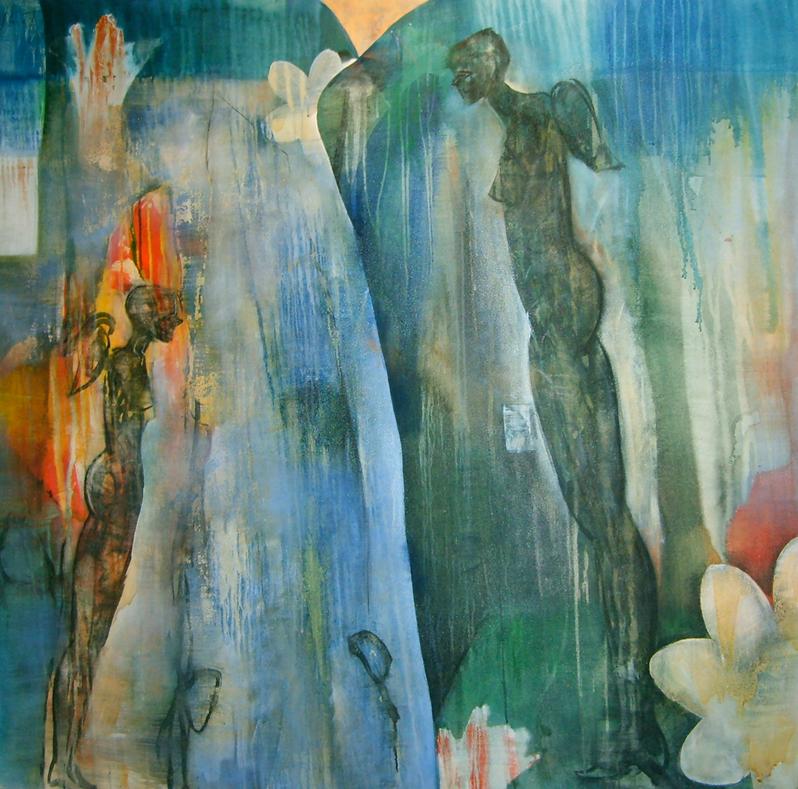 Angelus 150x200cm oleo sobre tela