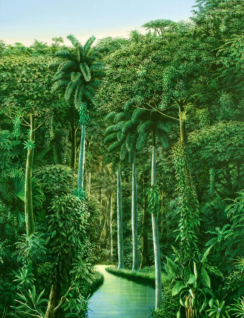 paisagem para o poetico 2007 160x110cm oleo tela