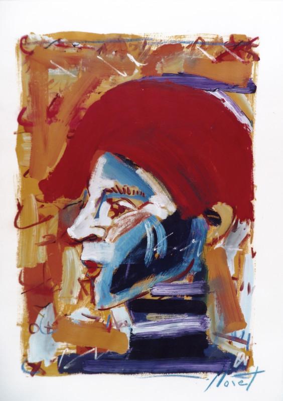 Alejandro mista mista sobre papel 100x070cm 1996