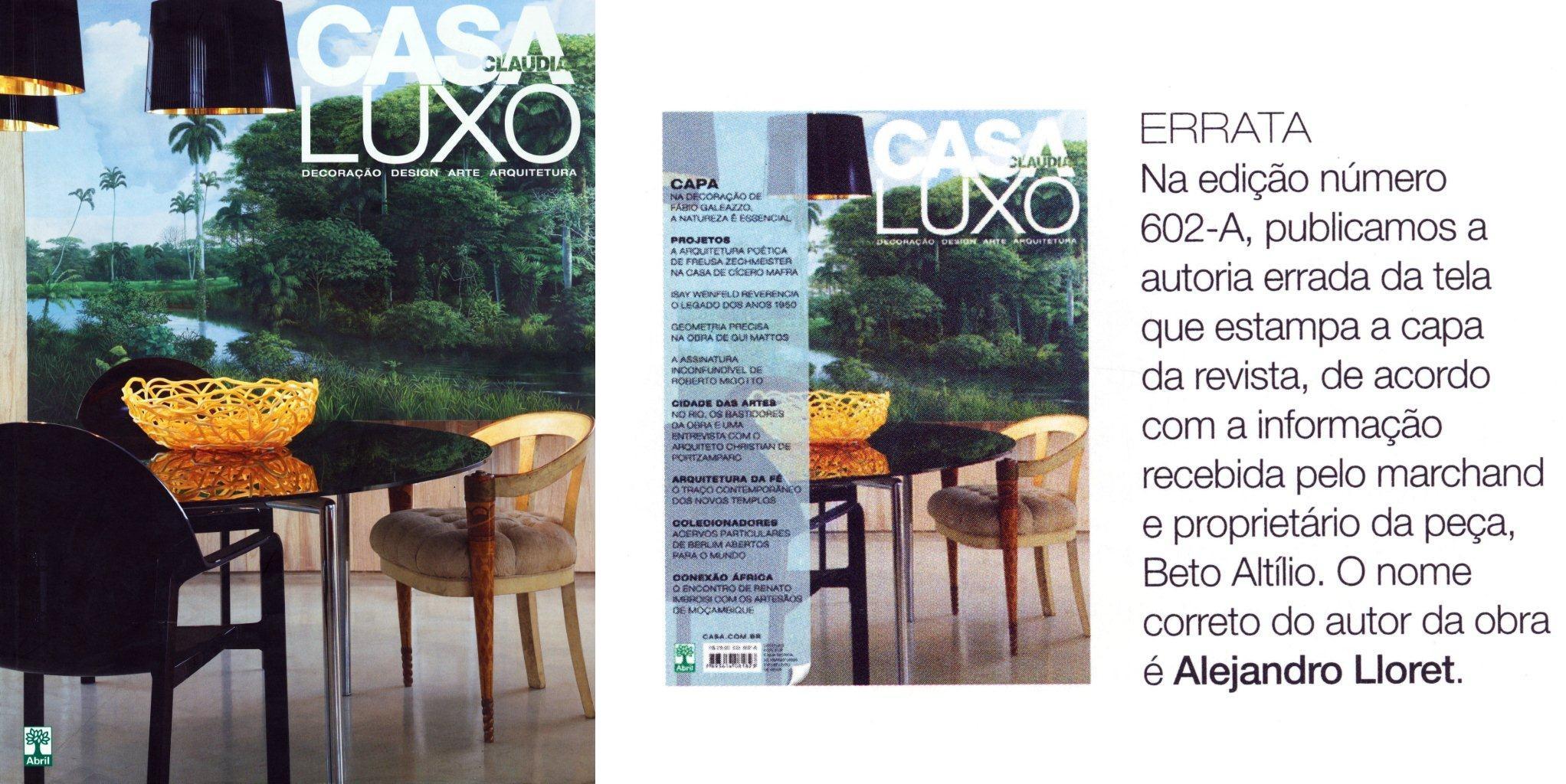 Casa Claudia Luxo