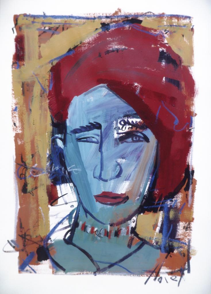 Carla mista sobre papel 100x070cm 1996