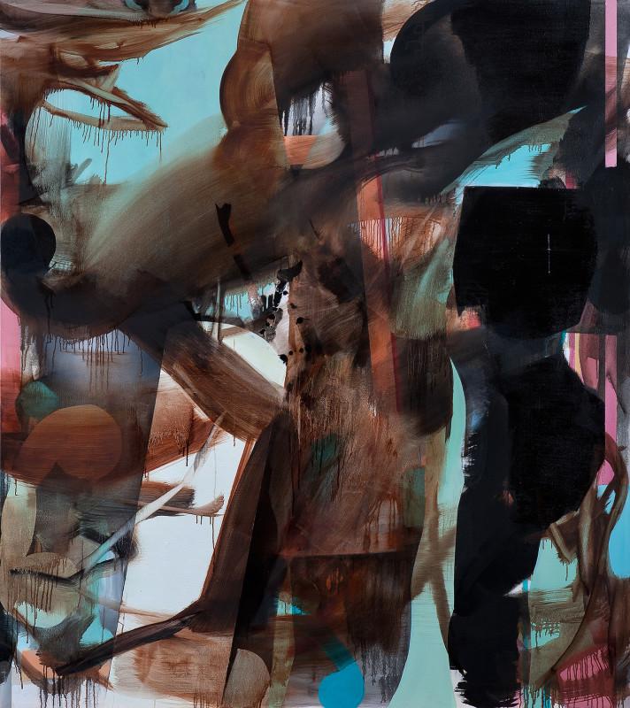 Crepusculo oleo sobre tela 190X170cm 2013