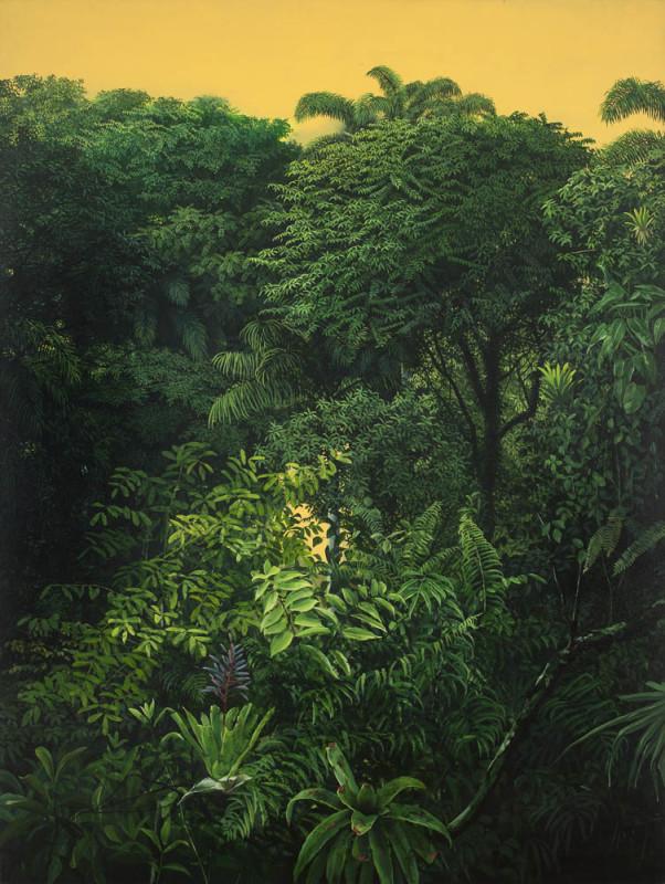 Ode ao verde oleo sobre tela  200X150cm_2005
