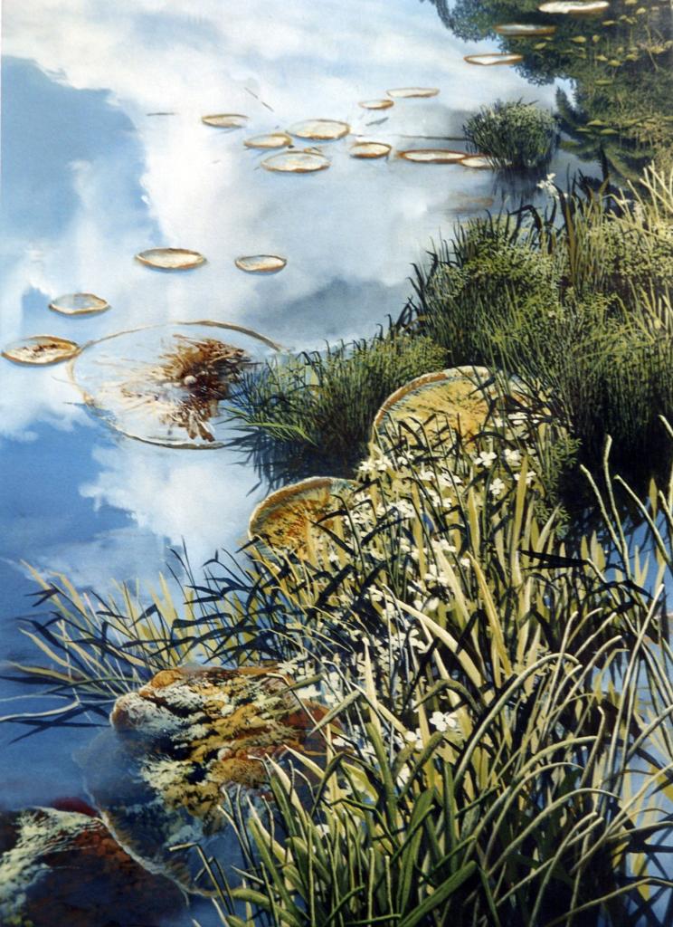 Primaveras oleo sobre tela  200x150cm