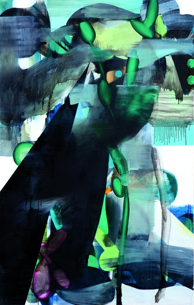 Retrato do  artista quando jovem oleo sobre tela 190X120cm 2013