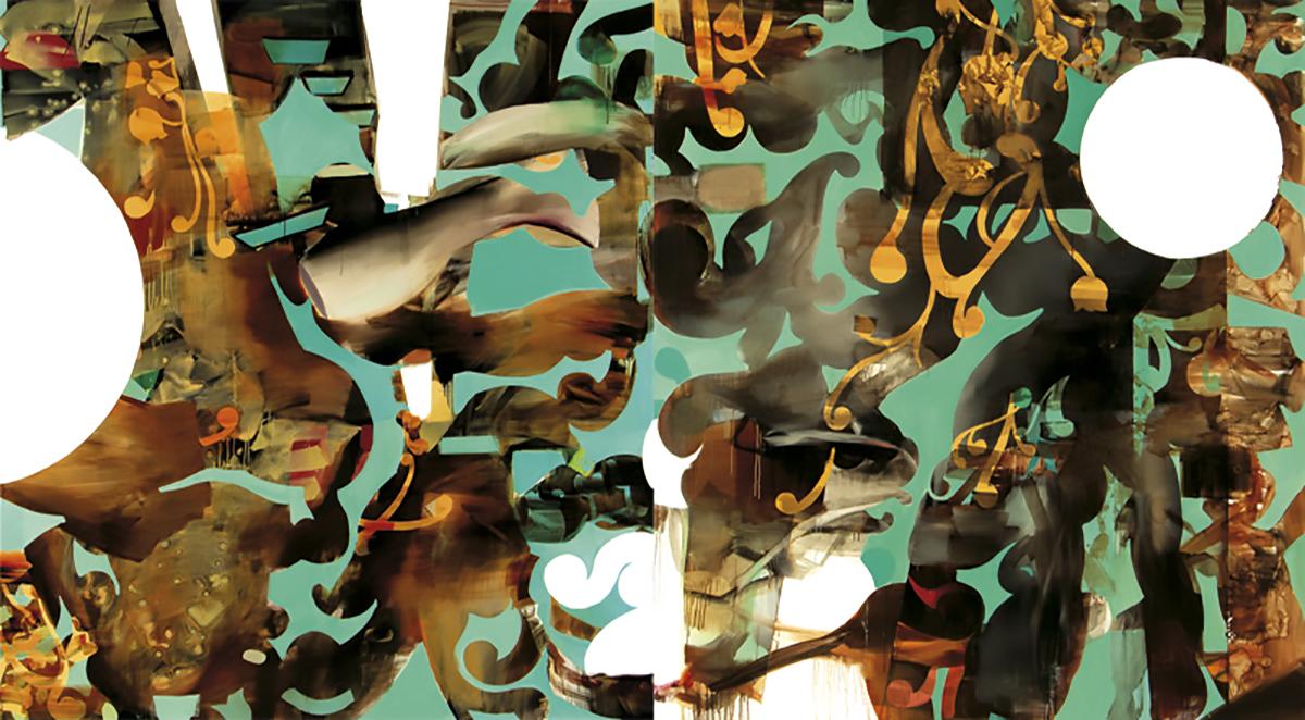dipitico oleo sobre tela 190X340cm 2013